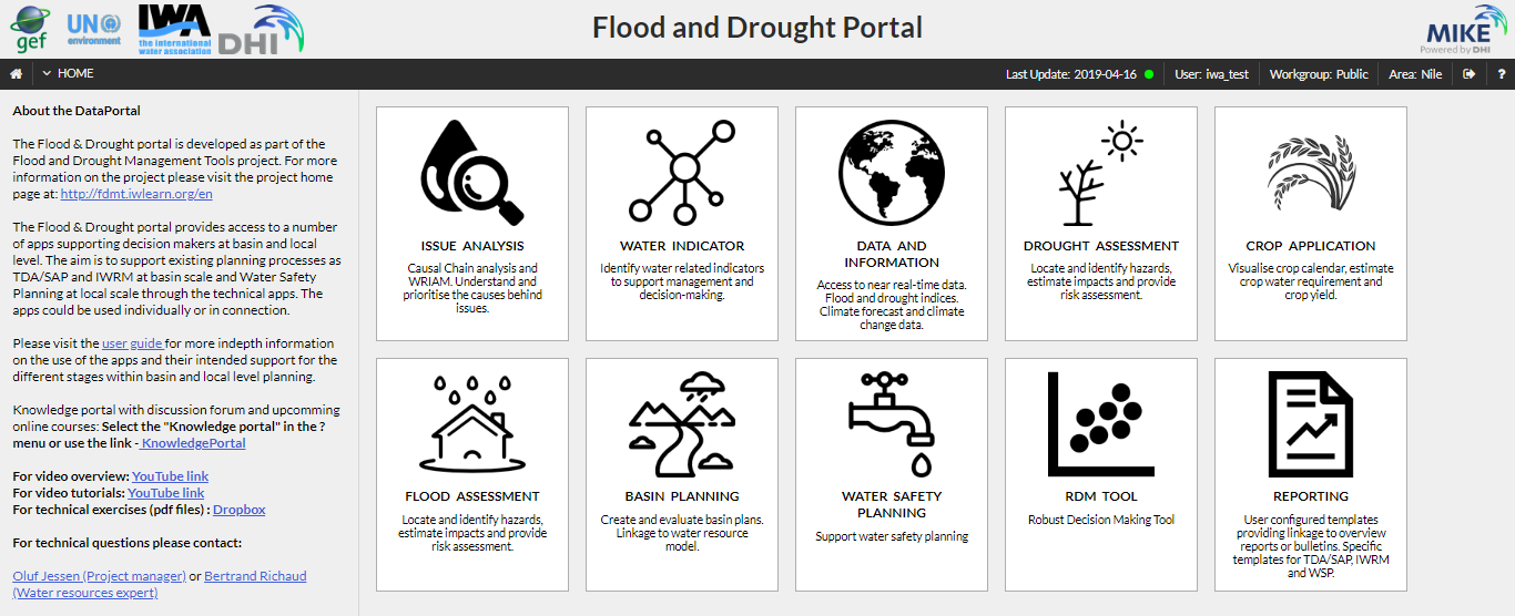 Flood and Drought Management Tools - International Water