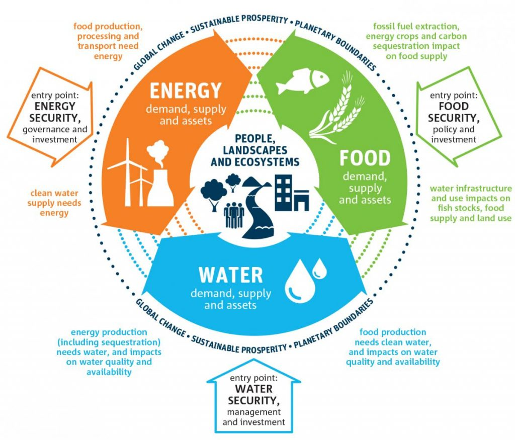 Sustainable Development The Water Energy Food Nexus